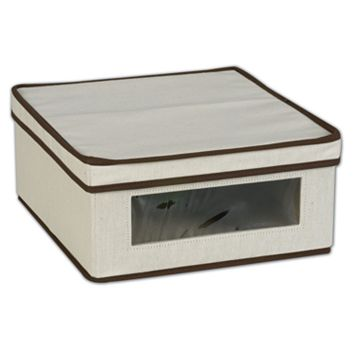 Household Essentials Window Vision Small Lidded Storage Box