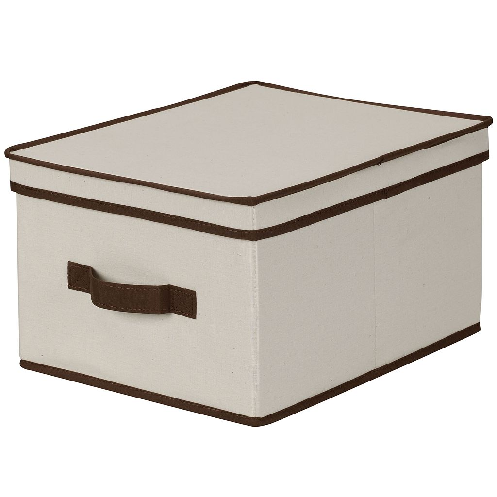 Household Essentials Large Lidded Storage Box