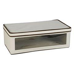 Household Essentials Vision Large Lidded Storage Box