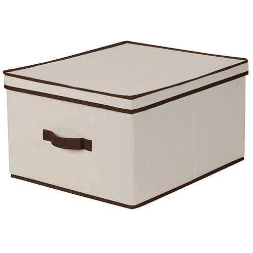 Household Essentials Jumbo Lidded Storage Box