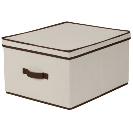 Household Essentials Jumbo Lidded Storage Box