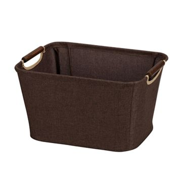 Household Essentials Small Open Tapered Storage Bin