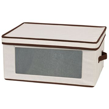 Household Essentials Goblet Lidded Storage Chest