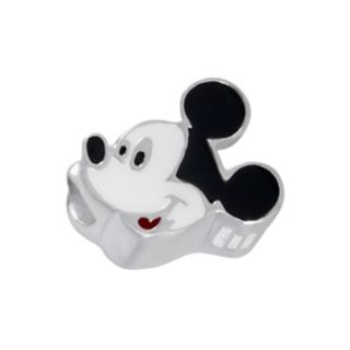 Disney Mickey Mouse Sterling Silver Bead