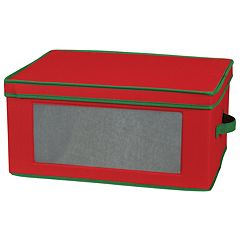 Household Essentials Holiday Goblet Lidded Storage Chest
