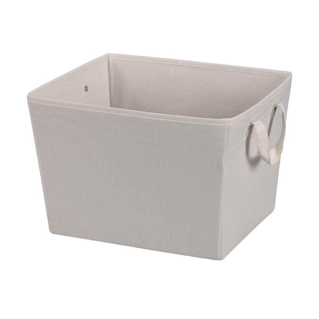 Household Essentials Medium Open Tapered Storage Bin