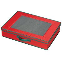 Household Essentials Holiday Tabletop Lidded Storage Chest
