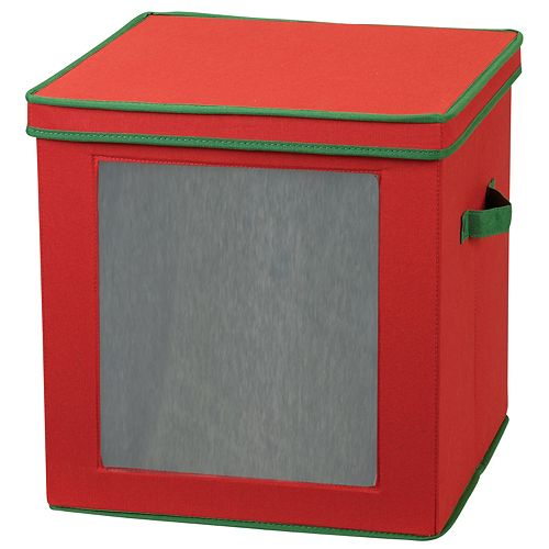 Household Essentials Holiday 27-pc. Ornament Storage Chest