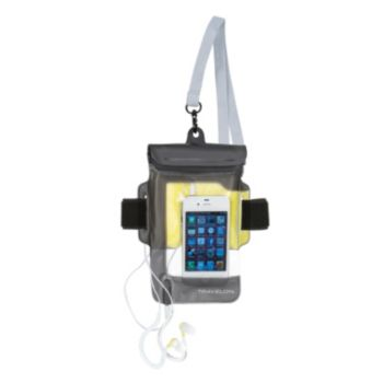 Travelon Waterproof iPhone Pouch and Earbuds