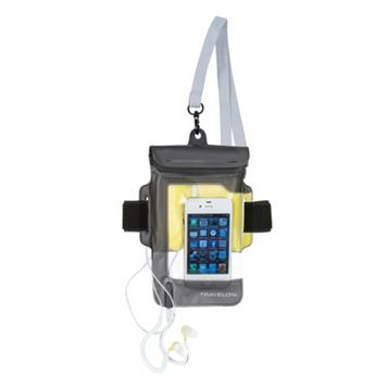 Travelon Waterproof iPhone Pouch & Earbuds