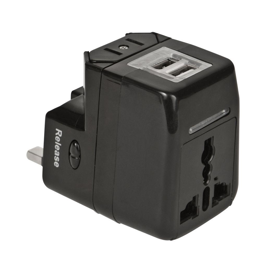 Travelon International Dual USB Charger & Adapter