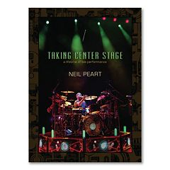 Neil Peart: Taking Center Stage 3-Disc DVD Set