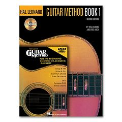 Guitar Method: Book 1 Music Book with CD & DVD - Guitar