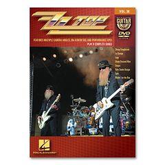 ZZ Top: Guitar Play-Along Vol. 38 Instructional DVD - Guitar