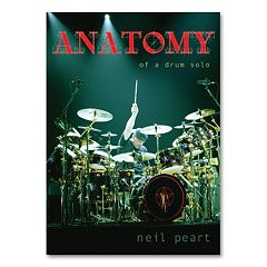 Neil Peart: Anatomy of a Drum Solo 2-Disc Music DVD Set