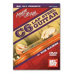Anyone Can Play: C6 Lap Steel Guitar Instructional DVD - Guitar