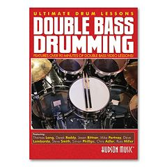Ultimate Drum Lessons: Double Bass Drumming Instructional DVD - Drums