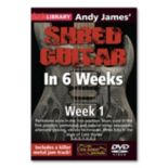 Andy James' Shred Guitar in 6 Weeks: Week 1 Instructional DVD - Guitar
