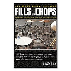 Ultimate Drum Lessons: Fills and Chops 2-Disc Instructional DVD Set - Drums