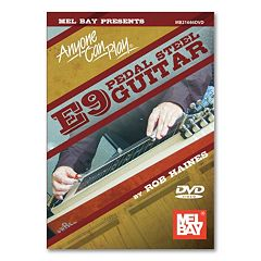 Anyone Can Play: E9 Pedal Steel Guitar Instructional DVD - Guitar