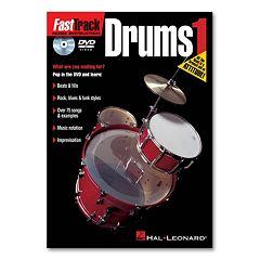 FastTrack Drums Method 1 Instructional DVD - Drums