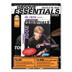 Tommy Igoe's Groove Essentials Music Book with CD & DVD - Drums