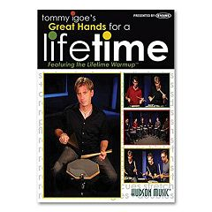 Tommy Igoe's Great Hands for a Lifetime Instructional DVD - Drums