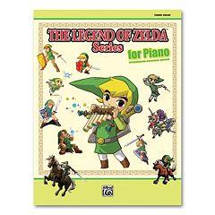The Legend of Zelda Series Sheet Music Book - Piano Solo