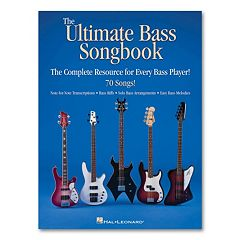 The Ultimate Bass Songbook - Bass Guitar