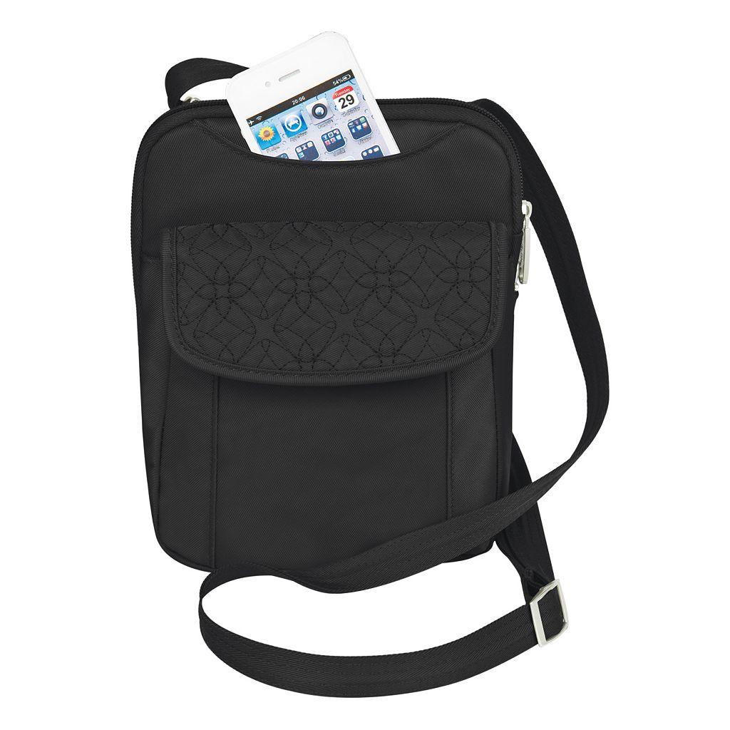 Travelon Signature Anti-Theft RFID-Blocking Crossbody Bag
