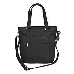 Travelon Signature Anti-Theft RFID-Blocking iPad Weekender Bag