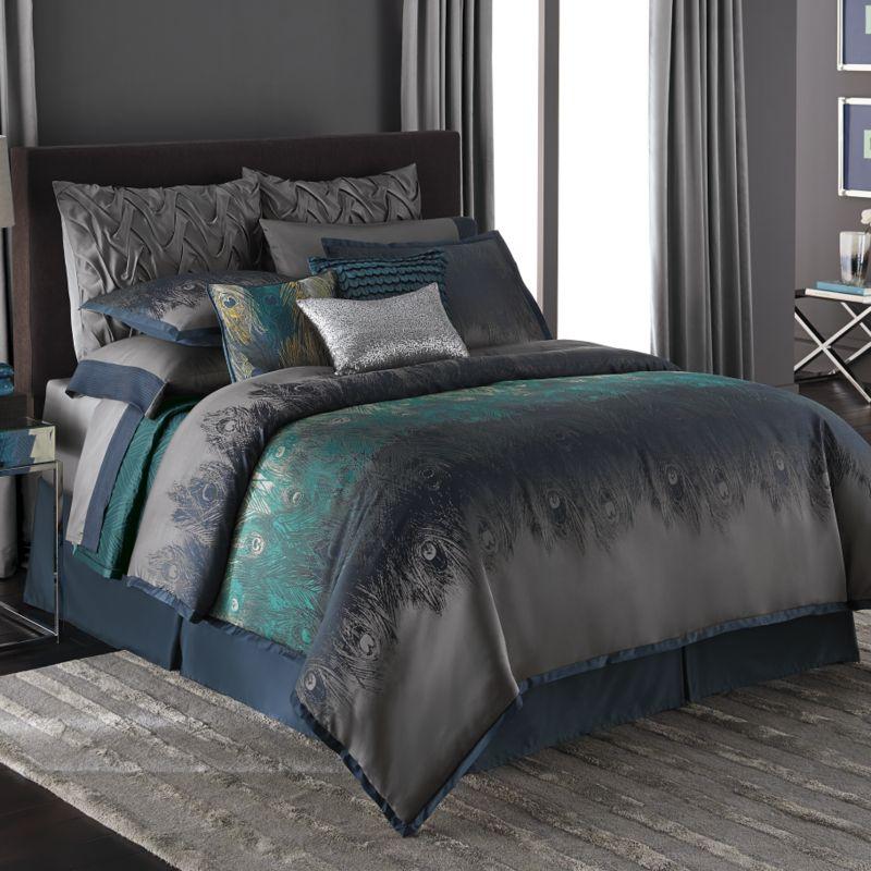 Jennifer Lopez bedding collection Exotic Plume 4-pc. Comforter Set ...
