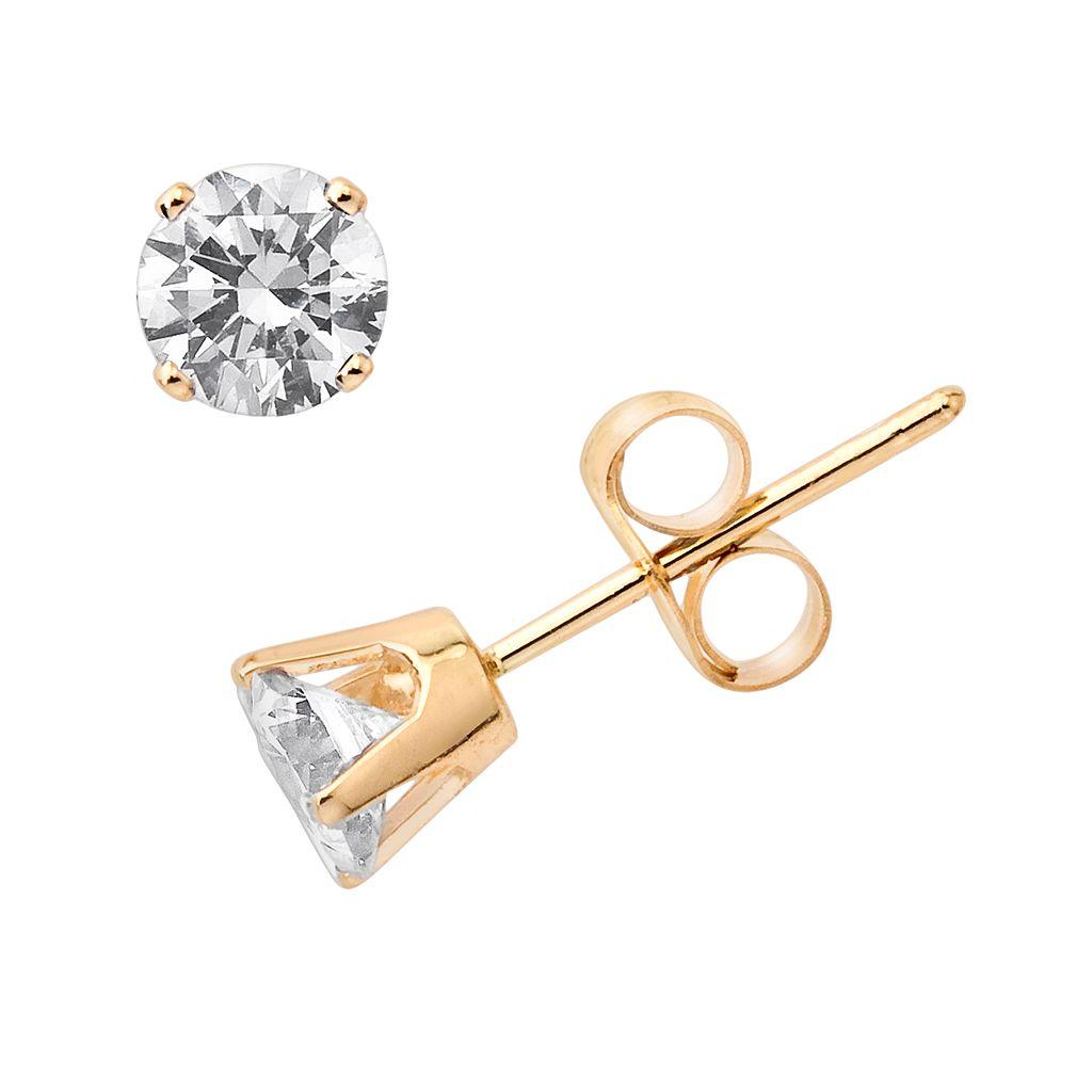 10k Gold 1/2-ct. T.W. Diamond Stud Earrings