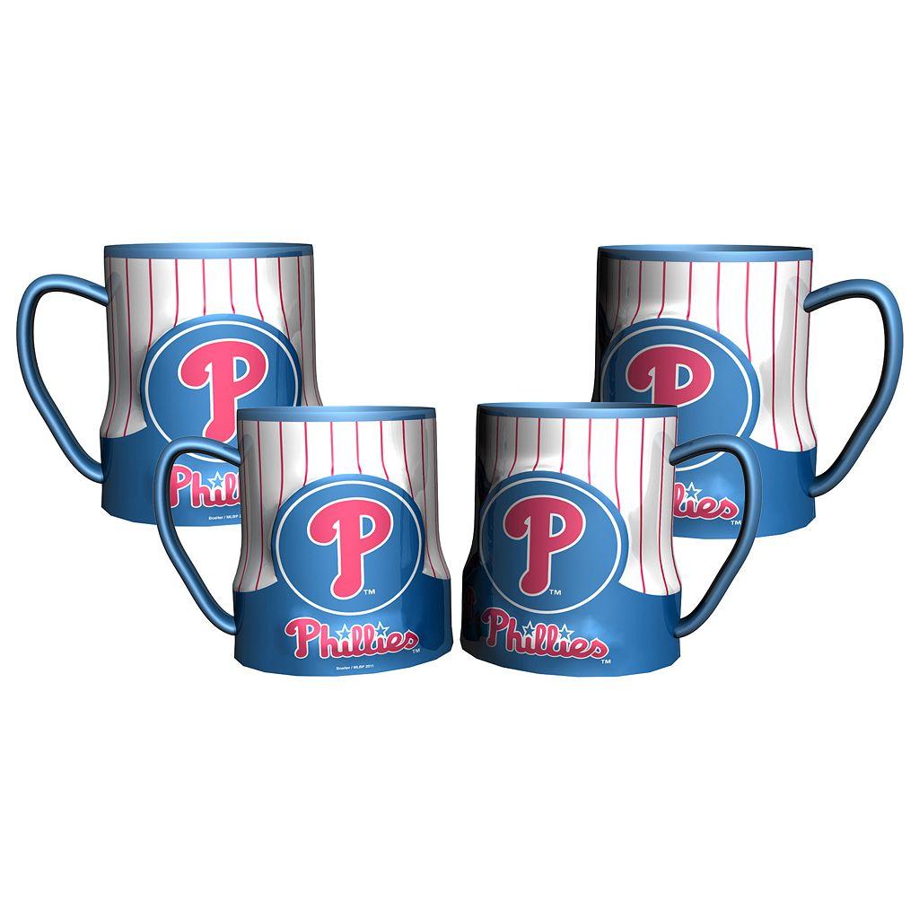 Philadelphia Phillies 4-pc. Game Time Mug Set