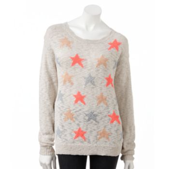 Sale alerts for  LC Lauren Conrad Star Lurex Sweater - Women's - Covvet