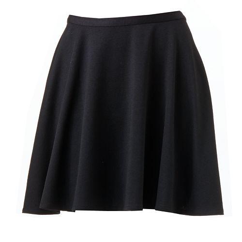 LC Lauren Conrad A-line Ponte Skirt