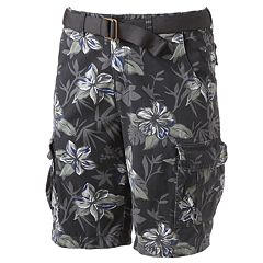 Urban Pipeline™ Floral Twill Cargo Shorts - Men