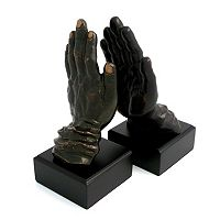 Hands Book Ends