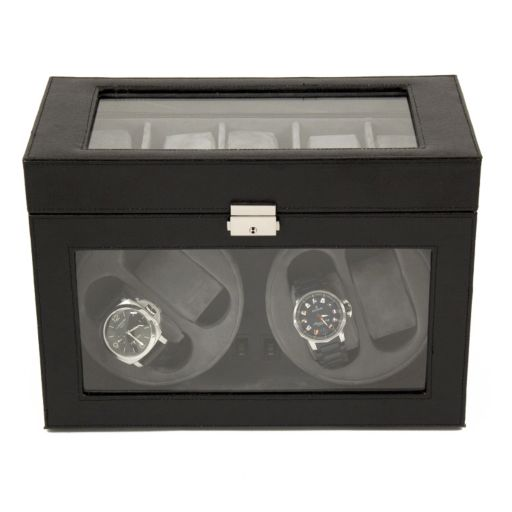 Leather Watch Winder and Storage Case