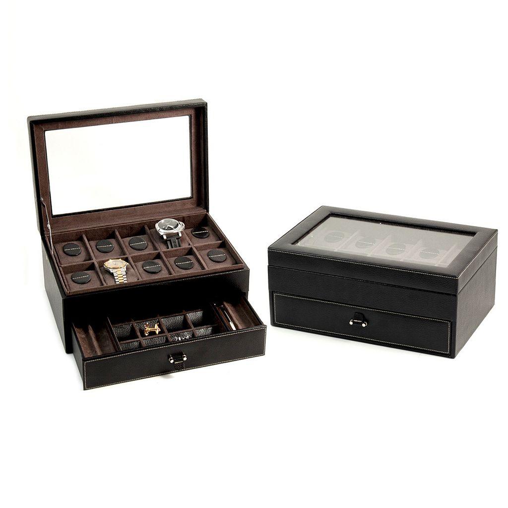 Leather Watch Storage Case