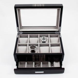 Lacquered Wenge Wood Watch Storage Box