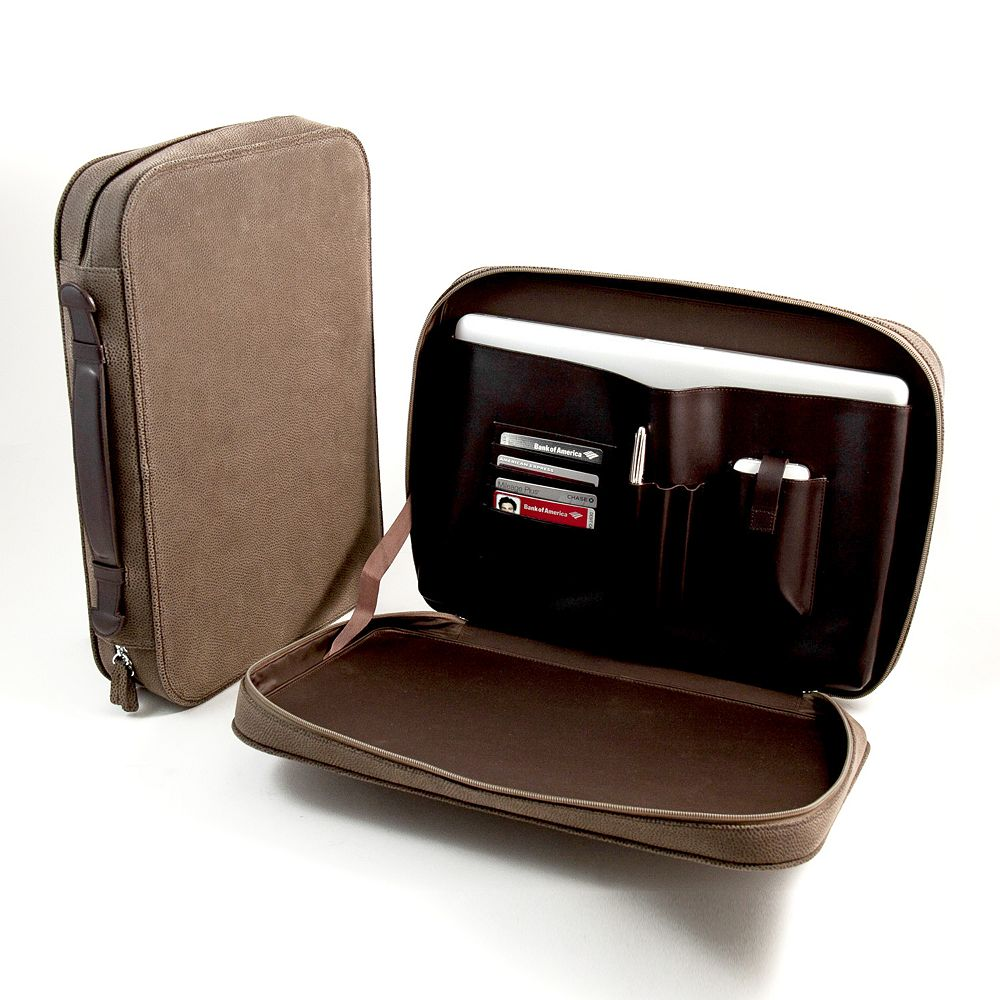 Ultrasuede Computer Carrying Case