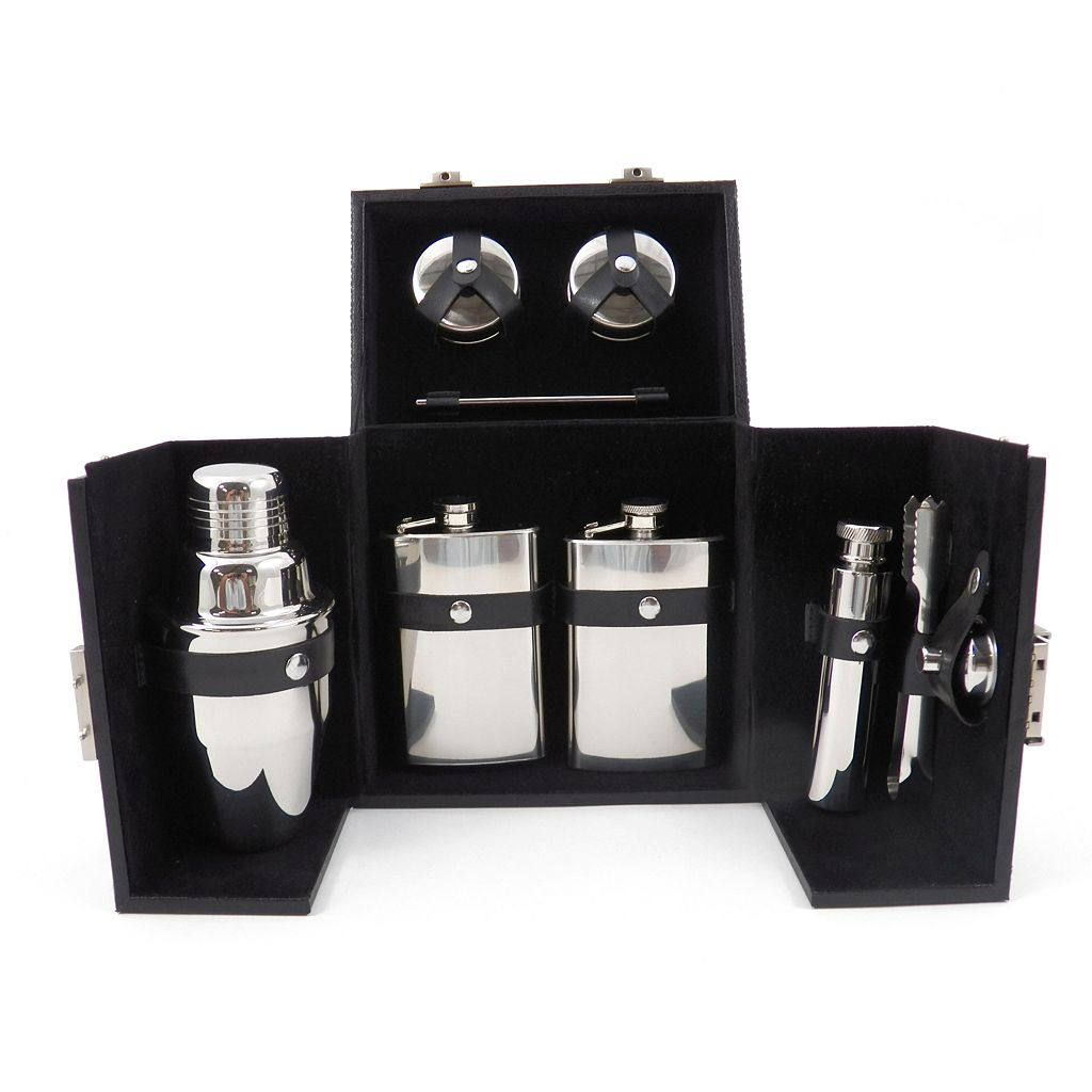 Boxed 10-pc. Stainless Steel Bar Set