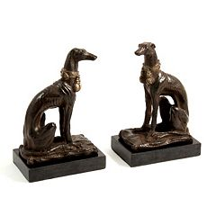 Whippet Bookends