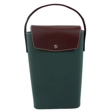 Ultrasuede Double Wine Carrier