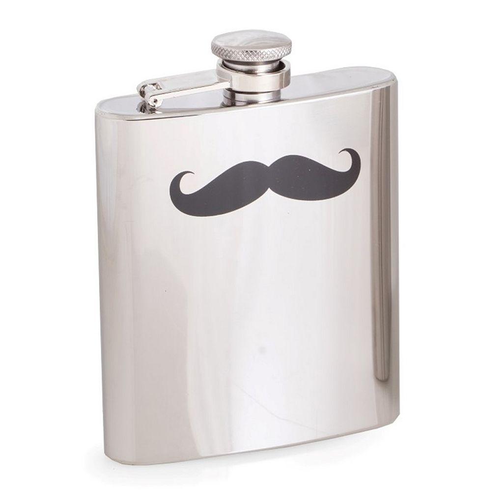 Bey-Berk Moustache Flask