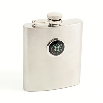 Bey-Berk Compass Flask