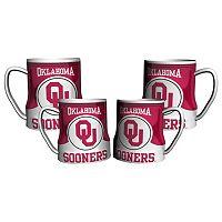 Oklahoma Sooners 4-pc. Game Time Mug Set