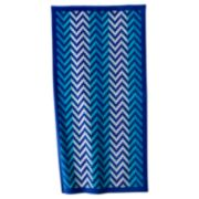 The Big One Chevron Beach Towel