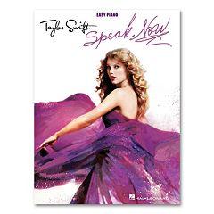 Taylor Swift Speak Now Songbook - Easy Piano
